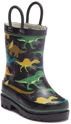 Western Chief Dino Stomp Waterproof Rain Boot (Toddler & Little Kid)