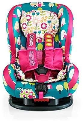 Cosatto Moova 2 Car Seat Group 1 (9-18 kg), Happy Campers