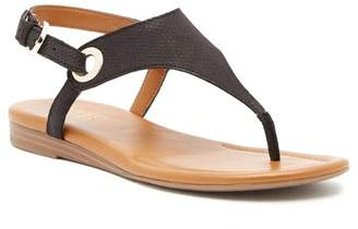 Franco Sarto Goldy Leather Sandal