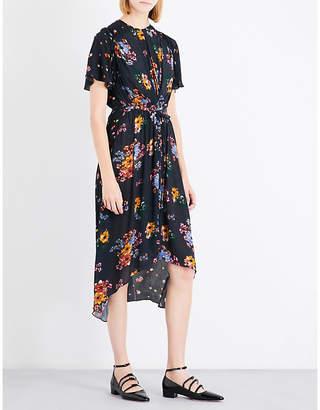 Preen Line Feben floral crepe dress