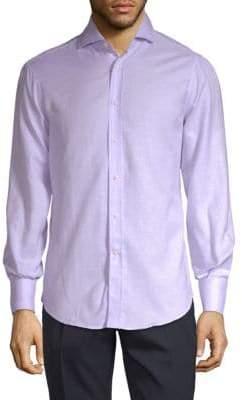 Brunello Cucinelli Classic Long-Sleeve Button-Down Shirt