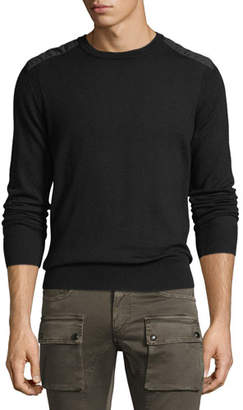 Belstaff Kerrigan Cotton Crewneck Sweater