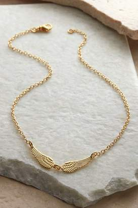 Soft Surroundings Dina Double Wing Necklace