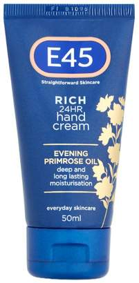 E45 Skincare Rich 24HR Hand Cream - 50ml