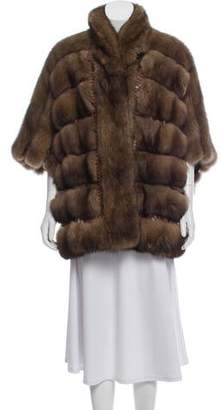 Sable Fur & Python Jacket w/ Tags