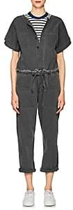 NSF Women's Osana Cotton Canvas Jumpsuit - Black