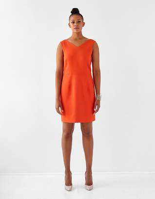 8959134e Ava James Berlin in Salamander Dress in Orange Size 12 Polyester