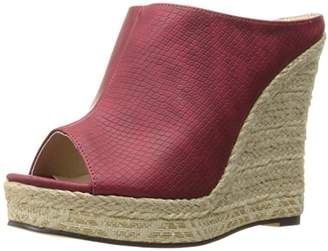 Michael Antonio Women's Georgia-rp Espadrille Wedge Sandal