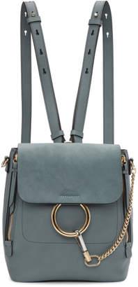 Chloé Blue Small Faye Backpack