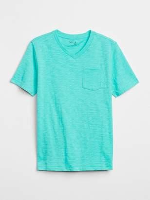 Gap V-Neck Pocket T-Shirt