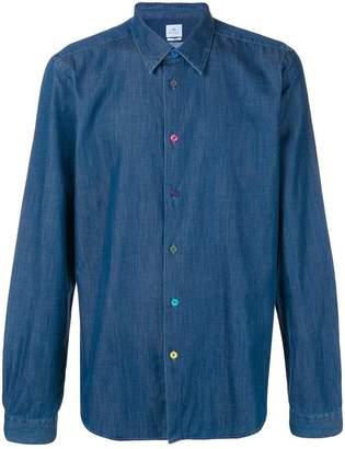 Paul Smith denim collared shirt