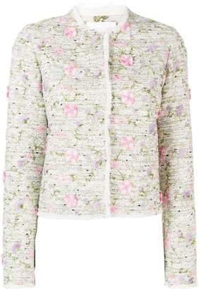 Giambattista Valli cropped floral jacket