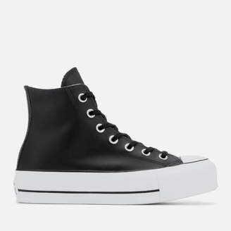 Converse Chuck Taylor All Star Lift Clean Hi-Top Trainers