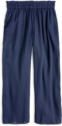 J.Crew Pull On Crop Wide Leg Pants