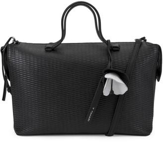 T Tahari Medium Kyla Leather Satchel Bag