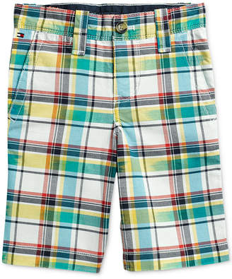 Tommy Hilfiger Adaptive Little Boys Shorts with Adjustable Waist