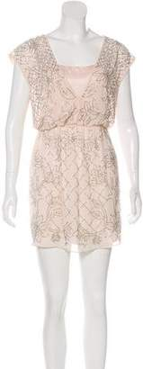 Needle & Thread Embellished Mini Dress w/ Tags