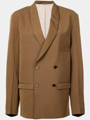 Lemaire double-breasted blazer jacket