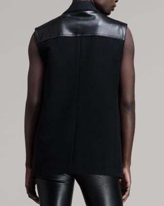 Alexander Wang Hybrid Layered Moto Vest