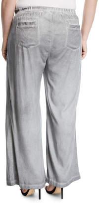 XCVI Holden Wide-Leg Utility Pocket Pants, Plus Size