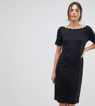 Y.A.S Tall Scallop Shift Dress