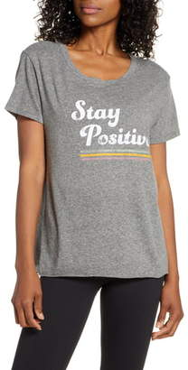 good hYOUman Dakota Stay Positive Graphic Tee