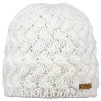 Barts Women's Swirlie Beanie - Hat - Grey (Dark Heather), (Manufacturer size: )