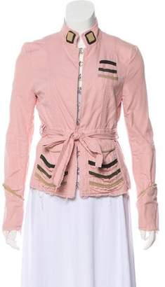 Marc Jacobs Casual Distressed Jacket