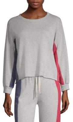 Sundry Cotton Colorblock Sweatshirt