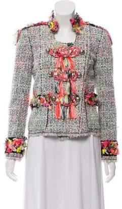 Marc Jacobs Neon Tweed Jacket