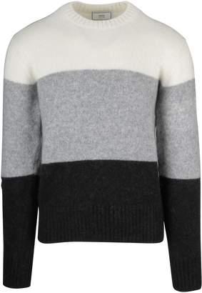 Ami Alexandre Mattiussi Wide Stripes Sweater