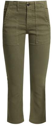 The Great The Army Nerd cotton-blend trousers
