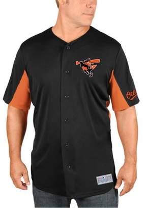 Machado MLB Baltimore Orioles Manny Big Men's Short Sleeve Button Jersey, 2XL