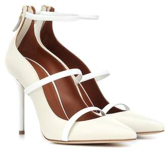 Malone Souliers Robyn 100 leather pumps