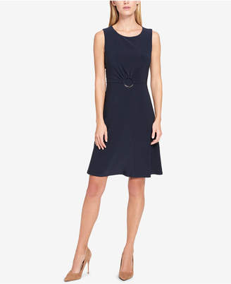 Tommy Hilfiger Embellished A-line Dress