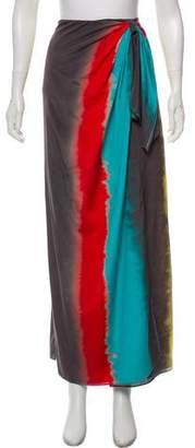 Alice + Olivia Dip-Dye Maxi Skirt