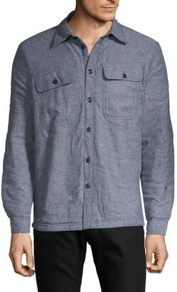 Vstr Premium Flannel Faux Shearling-Lined Jacket