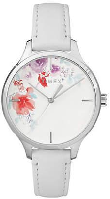 Timex Womens Analog Crystal Bloom Strap Watch