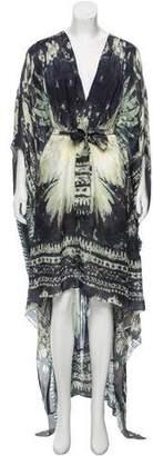 Balmain Silk Oversize Dress