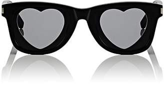 Saint Laurent Women's SL 51 Heart Sunglasses - Black