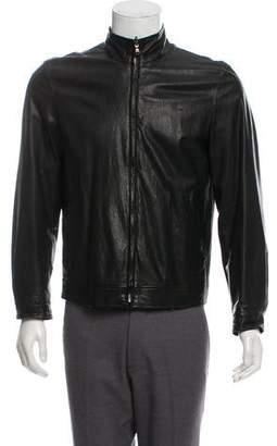 Barneys New York Barney's New York Reversible Leather Jacket