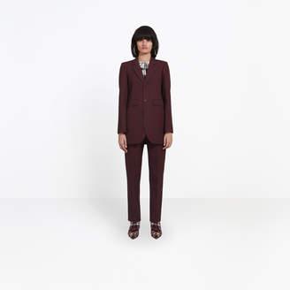 Balenciaga Wool single breasted jacket