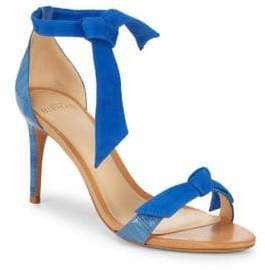 Alexandre Birman Patty Leather Stiletto Sandals