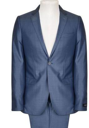 FLANNELS BLACK LABEL Patterned Two Piece Suit