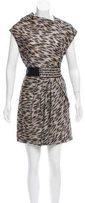 Yigal Azrouel Silk-Blend Dress