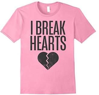 I Break Hearts Black Heart Graphic T-Shirt