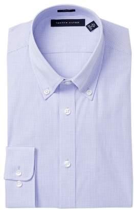 Tommy Hilfiger Slim Fit Gingham Dress Shirt