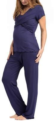 Savi Mom Sophia Maternity/Nursing Pajamas