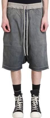 Drkshdw Blue Denim Shorts