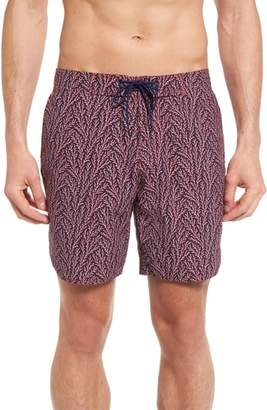 Zachary Prell Amaranth Swim Trunks